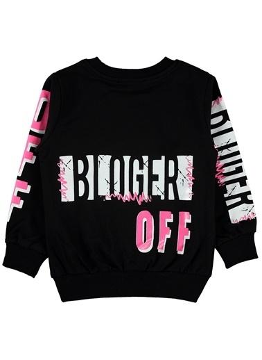 Civil Girls Kız Çocuk Sweatshirt Siyah